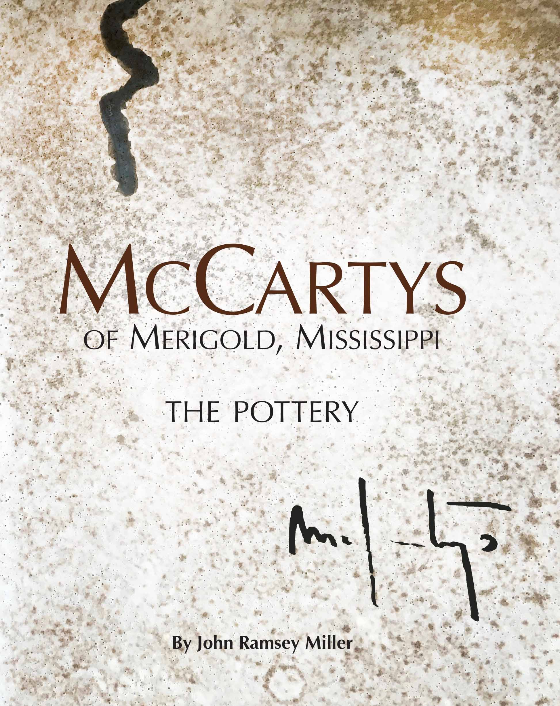 Mccarty Pottery Book Ot
